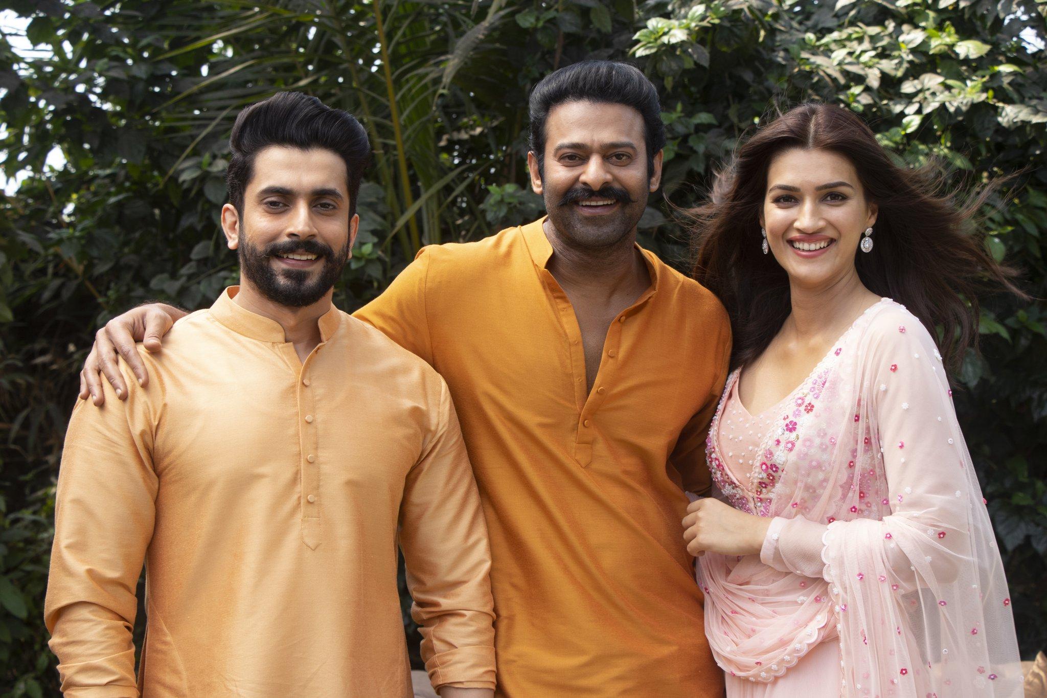 Sunny Singh as Laxman and Kirti Sanon as Sita join the team of Adipurush