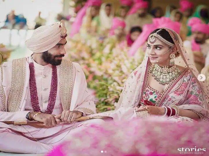 Indian Pacer Jasprit Bumrah Marries Sanjana Ganesan with Utmost Secrecy