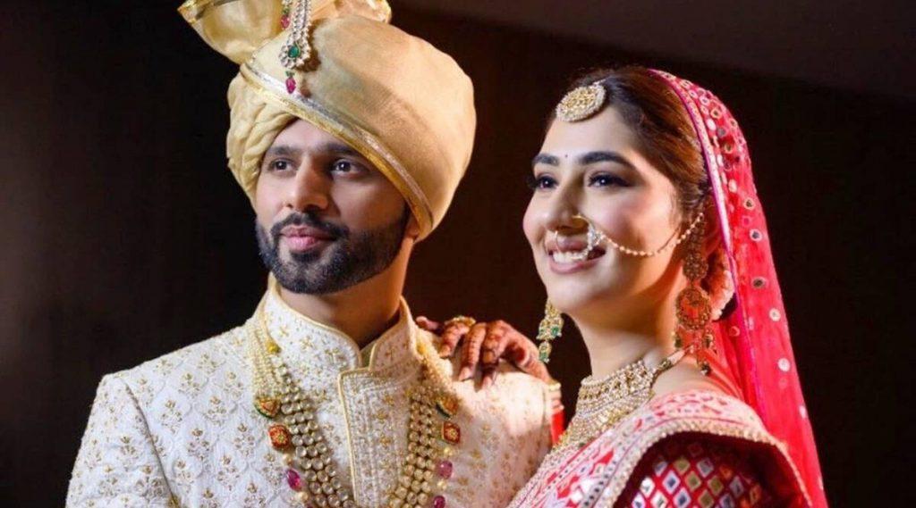 Singer Rahul Vaidya ties the knot with actor Disha Parmar